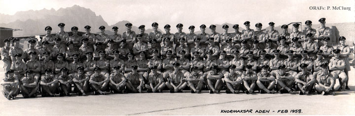 1 Sqn had detachments to Aden in support of the RAF