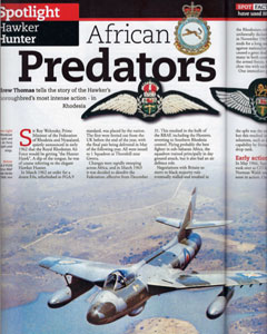 Flypast magazine Hunter feature