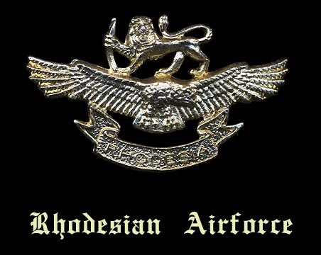 Rhodesian Airforce Crest Insignia