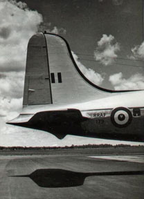 3 Sqn flew the DC4